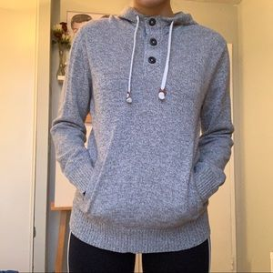 H&M Grey Hooded Sweater